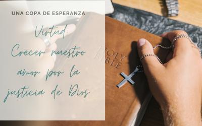 Una Copa de Esperanza: Crecer nuestro amor por la justicia de Dios